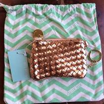 Nwt Authentic Deux Lux Coin Key-Ring Pouch/wallet Rose Gold W/duster Bag Photo