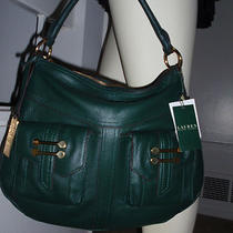 Nwt Authentic Lauren Ralph Lauren Bermondsey Hobo Bag  Hunting Green         Photo