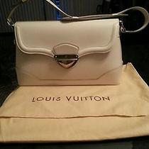 Nwt Authentic Louis Vuitton Bagatelle Pm Epi Ivoire Photo