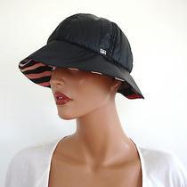 Nwt Authentic Sonia Rykiel Black Nylon Bucket Hat Sz 2 Photo