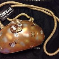 Nwt Authentic Timmy Woods Handbag With Swarovski Crystals  Photo