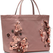 Nwt Authentic Tory Burch Flower Cluster Tote in Blush 350 Sold Out Photo