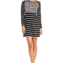 Nwt Authentic Trina Turk Violetta Stripe Wool Sweater Dress M Photo