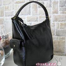 Nwt Authentic Yves Saint Laurent Mini Sac Multi Hobo Black Patent Leather 8