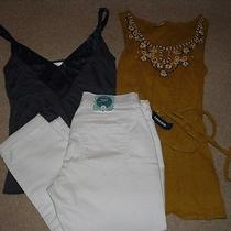 Nwt Awesome Old Navy Avon Marc Tunic Tank Jeans Summer lotsz.xs/s/2 Photo