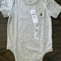 Nwt Baby Boy Gap Kids 12-18m Gray One Piece Top Creeper Toddler Infant New Photo