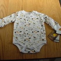 Nwt Baby Boy's 3 Months Carhartt One-Piece Onesie    Photo