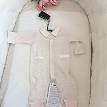 Nwt Baby Fendi Roma One Piece Rose Gold 3 Months Photo