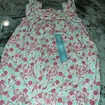Nwt Baby Gap 3-6 Floral Flutter Sleeve Ivory One-Piece Romper Nwt Girls Flowered Photo