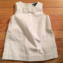 Nwt.  Baby Gap Baby Girl Off White Corduroy Dress.  Size 6-12 Months Photo