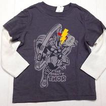 Nwt Baby Gap Boy Junk Food 2 in 1 Shirt the Mighty Thor Size 18-24 Months Photo