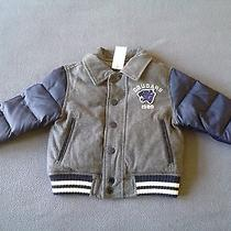 Nwt Baby Gap Boys Varsity Jacket Size 18-24 Months Photo