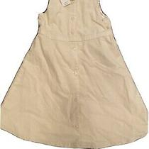 Nwt Baby Gap Girls Holiday Lined Corduroy Dress Winter White Vintage 5 Photo