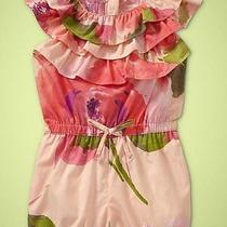 Nwt Baby Gap Girls Key West Garden Party Outfit One Piece Size 3 3t Photo