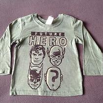 Nwt Baby Gap Junk Food Boys Future Hero Graphic Long Sleeve Tee Shirt 2t  Green Photo