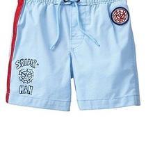 Nwt Baby Gap Junk Food Pull on Swim Trunks Shorts Spiderman Boys Size 2t 2 Yrs Photo