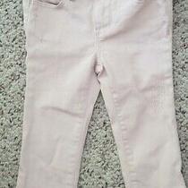 Nwt Baby Gap Pale Pink Mini Skinny Distressed Jeans W/ Adjustable Waist 18-24m Photo