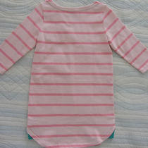 Nwt Baby Gap Pink Striped Dress Tunic Style Long Sleeve for Baby Girl Size 4t Photo