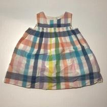 Nwt Baby Gap Smocked Plaid Dress 12-18 Months Baby Girl Perfect Easter Dress Photo