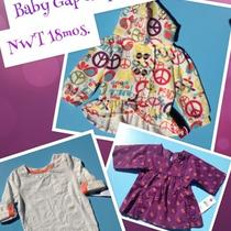 Nwt Baby Gap & Sprockets Shirts and Hooded Sweater