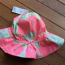 Nwt Baby Gap Toddler Girl Summer Hat Size M/l Photo