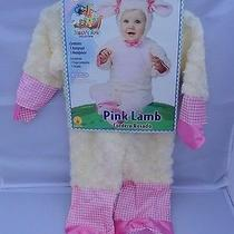 Nwt Baby Girls Infant Pink Lamb Halloween Costume 0-6 Mths Noahs Ark Collection Photo