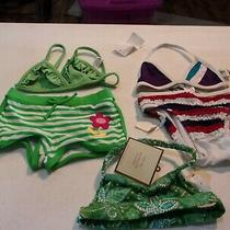 Nwt Baby Girls Size 6-12 Months Old Navy & Gap Misc Swimsuit Pieces (Qty 5) Photo