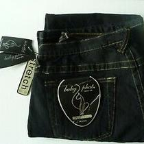 Nwt   Baby Phat Jeans  Boot Cut Size 9 Stretch  Photo