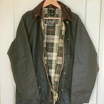 Nwt Barbour Beaufort Waxed Cotton Jacket - Olive - Mens Sz 40 Photo