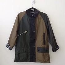 Nwt Barbour by Alexachung Patch Waxed Jacket Us 2 Alexa Chung Photo