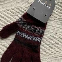 Nwt Barbour Knit Gloves Photo