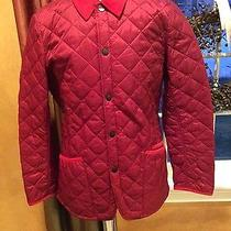 Nwt Barbour  Men's Pantone Chip Lifestyle Quilted Jacket Biking Red M  Nwt Photo