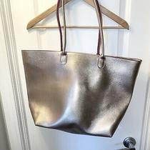 Nwt Bath and Body Works Over Night Tote Bag Rose Gold  Make Up Bag Photo