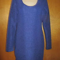 Nwt Bcbg Generation Royal Blue M Medium Dress 100% Polyester Photo