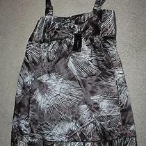 Nwt Bcbg Max Azria Charcoal Dress Trendy Print Sz Xl Photo