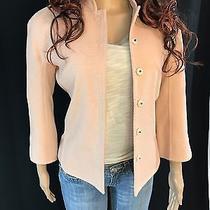Nwt Bcbg Maxazria Collection Jacket Size 4 Raglan Style Spring Blush Pink Photo