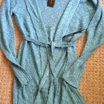 Nwt Bcbg Maxazria Sweater Blue Surf Size M Retails at 130.00 Photo