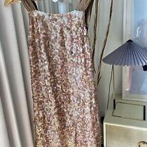 Nwt Bcbg Maxazria Woven Silk Sequin Dress Size 2. 460 Retail Photo