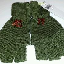 Nwt Bcbgeneration Bcbg Knit Fingerless Texting Gloves Msrp 38  Photo