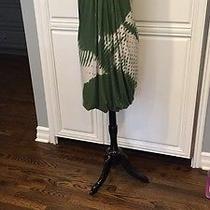 Nwt Beautiful Yigal Azrouel Green Juniper Dress Size 8 Photo