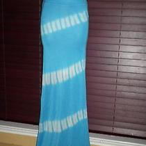 Nwt Bebe  Tie Dye Maxi Skirt Sz M   Hit the Beach  Wearing Our Skirt All Sizes  Photo