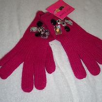 Nwt Betsey Johnson  Gloves  Photo
