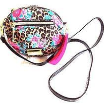 Nwt Betsey Johnson  Mini Crossbody Bag Messenger Natural Br21325 Nwt Photo