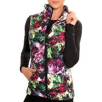 Nwt  Betsey Johnson Performance Vest in Floral Multi  Sz Xs Photo