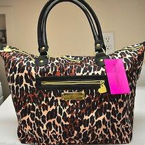 Nwt Betsey Johnson Tote Bag Purse  98 Photo
