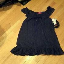Nwt Betsey Johnson Womens Animal Jacquard Chiffon Baby Doll Thong Black S Photo