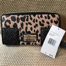 Nwt Betsey Johnson Zip Around Wallet Clutch