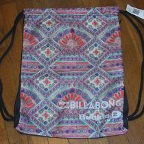 Nwt  Billabong Gals Spring Buckle Backpack Cinch Bag Photo