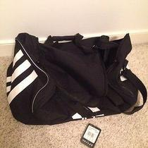 Nwt Black Adidas Tournament Duff Duffle Bag Golf Golfsport Photo
