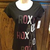 Nwt Black Roxy T-Shirt Xs Photo